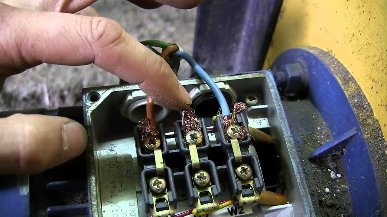 Схема подключения трех фазных двигателей фото 909