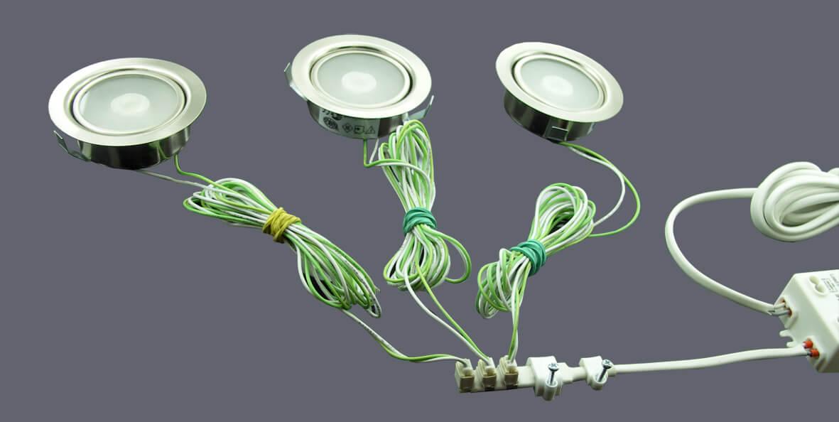 Устройство и схема подключения светодиодного светильника