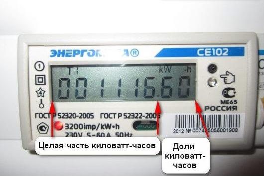 Как снимать данные электронного счетчика электроэнергии