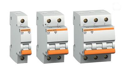 выбор автоматического выключателя по количеству полюсов