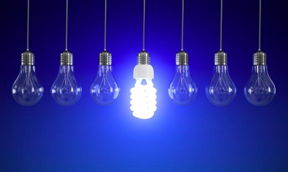 мигает энергосберегающая лампочка при выключенном свете