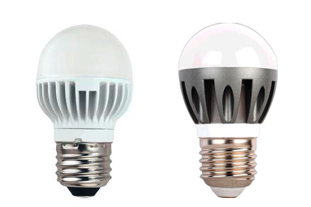 светодиодные лампочки с радиатором